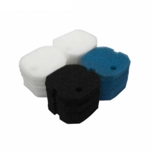 Poly Coarse Fine Foam Filter Pads Set Fit for Aqua One AQUIS 1200/1250 and 1000/1050