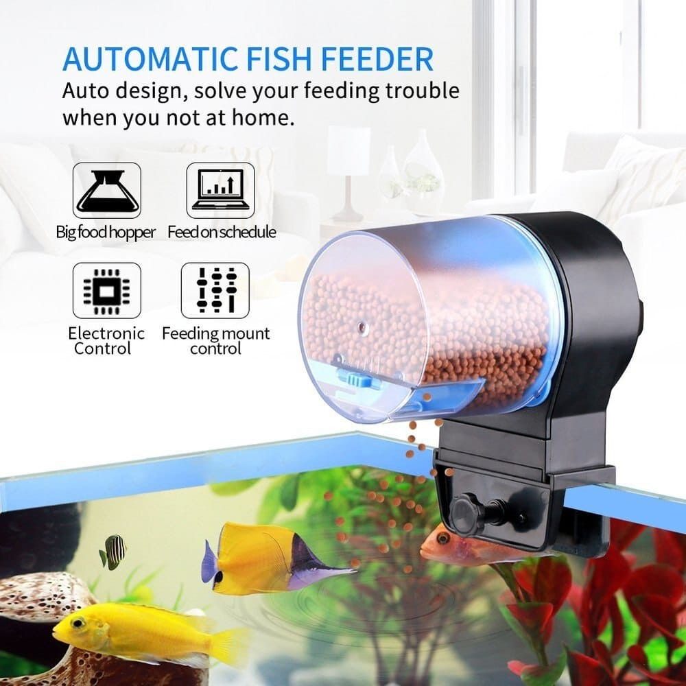 SUNSUN Automatic Fish Feeder Aquarium Tank WIFI Timer