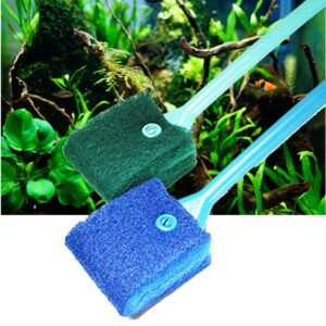 Universal Cleaning Brush Double Face Sponge  Glass Cleaner or Algae Remover