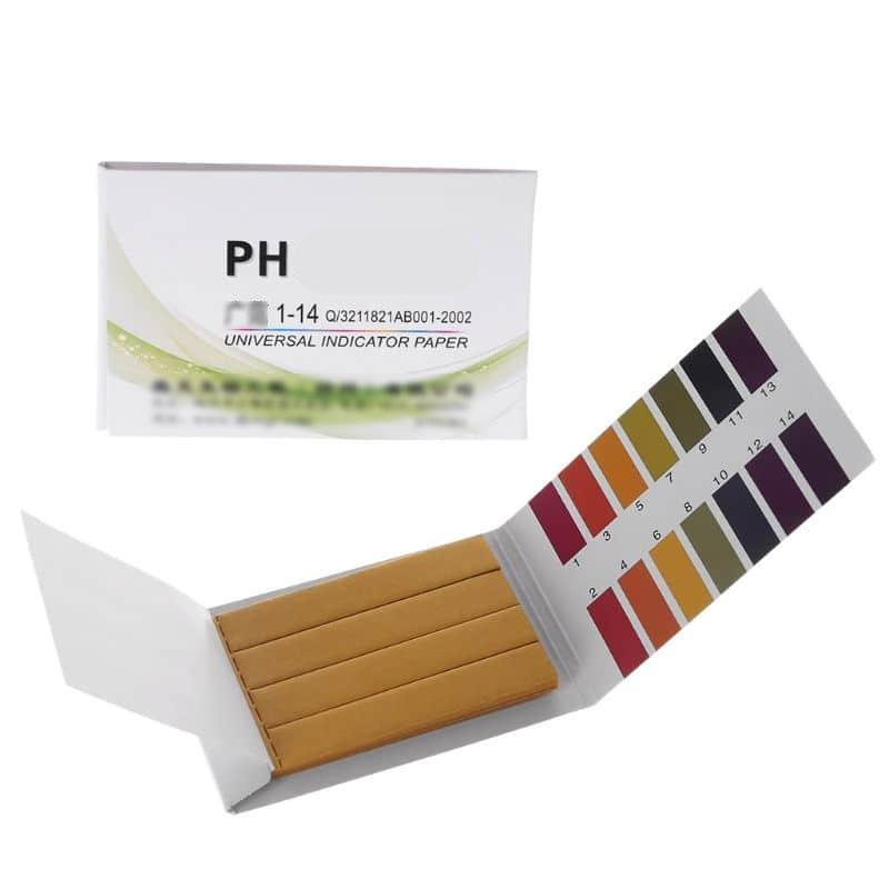1-14 PH Tropical Aquarium Cold Water Fish Tank Testing Kit 80 Test Paper